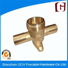 Messing Präzisions-Kolbenpumpe Teile CNC-Bearbeitung