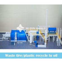 MSW machine de traitement des déchets de la ville à l'huile