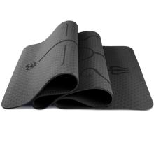 New Design  Custom Color and Size Soft Tpe Women  yoga mat