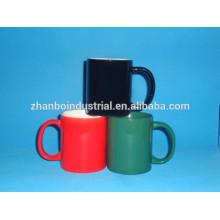 Fábrica de China regalos de publicidad 2015 taza de porcelana ecológica