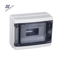 HA Type IP65 Waterproof Plastic 8 Way/8 Pole Modular Switch Distribution Box