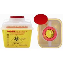 Contenedor Sharp de plástico desechable medicinal de 7.0L