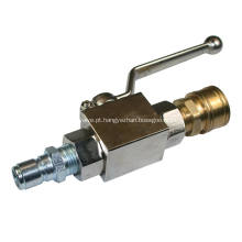 Válvula de esfera de pressão aspirador