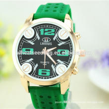 Big Dial bracelet en caoutchouc numérique personnalisé montres bon marché en silicone