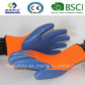 Polyester Shell with Nitrile Coated Work Gloves (SL-N104)