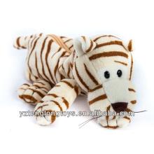 Factory Wholesale Tiger Design Cheap Plush Pencil Cases