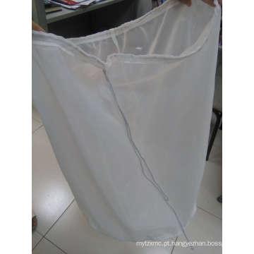 Saco de filtro líquido com cordão de nylon
