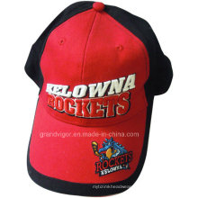 Cotton Rocket Sports Cap with Custom Woven Labels