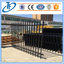 Garrison security perimeter fencing panels