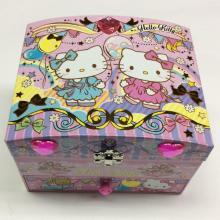 3-lagige Aufbewahrungsbox aus Kunststoff