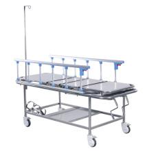 Beste Verkaufende Qualitäts-manuelle ABS-Leitschiene 3 Funktion justierbares Krankenhaus-elektrisches ICU-Bett