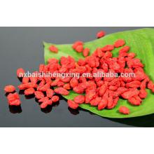 Ningxia zhongning wolfberry importación goji bayas embalaje a granel