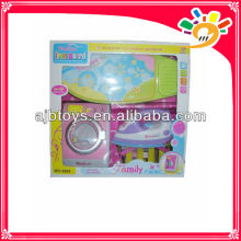 Elektrische Waschmaschine Spielzeug, Kunststoff Waschmaschine mit Licht / Musik