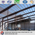Steel Frame Structure Workshop Combined with Peb Shed Warehouse