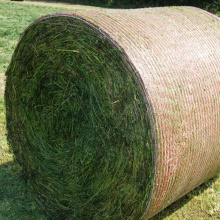 simple handling straw bale net for farm