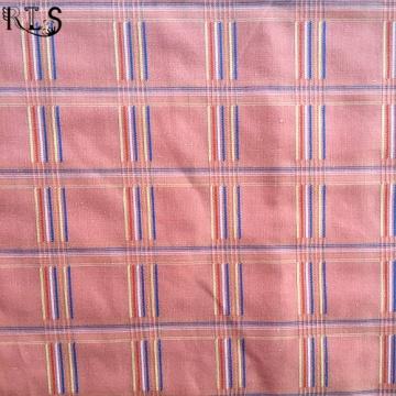 Жаккард полиэстер T/C Пряжа окрашенная ткань для сорочки/платье Rls45-1tc