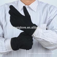Winter Ziegenfell Veloursleder Leder Handschuhe Herren billig Leder Arbeitshandschuhe