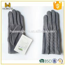 Winter Mode Mädchen 100% Polyester gestrickte Handschuhe