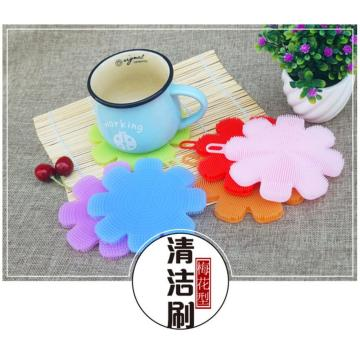 Soft Clean Silicone Scrubber for Bowl Dish