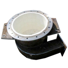 Wear Resistant Ceramic Metal Pipe
