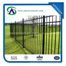 Высококачественный стальной забор по периметру