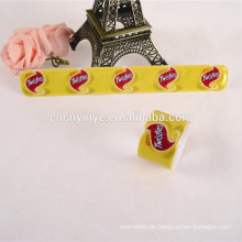 Flugzeug Werbung pvc Schlag Snap Armband