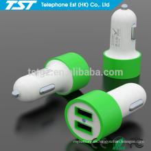 De Buena Calidad Cargador móvil portable del coche del USB 5V 2.1A dual