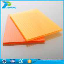 Good thermal insulation polycarbonate carport transparent roofing plastic outdoor panel