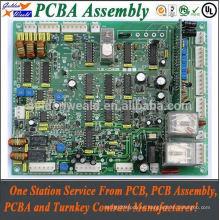 placa de circuito impresa del asamblea del PWB del sensor de la reproducción del pcba con OEM del pcba del oro de la inmersión
