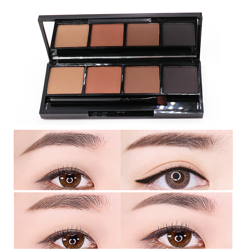 eye brow powder pressed waterproof