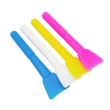 Pincel de silicone para máscara facial de silicone flexível