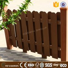 Bon prix lambris extérieur en bois composite wpc extérieur mur clôture de revêtement