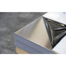 201 hojas de acero inoxidable NO.4 con PVC