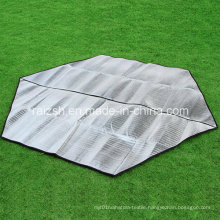 Hex-Sided Aluminum Foil Dampproof Tent Inside and Outside Use