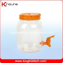 2500ml Plastic Water Jug Venda Atacado BPA Free with Spigot (KL-8008)