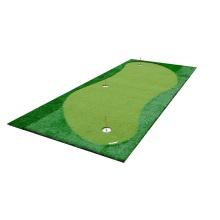 Simulador de golfe com tapete de golfe Putting Green Grande