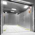 Elevador de carga con apertura de puerta múltiple Elevador de carga
