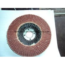 Buen rendimiento de 4.5 pulgadas / 115 mm Utilice disco de aleta abrasiva