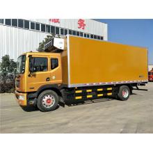 Camion de boîte de réfrigérateur de Dongfeng 6.8m