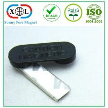33x12mm plastic badge magnet