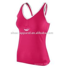 Vêtements de gymnastique de sports sexy de marque de nom de 2014 pour des femmes
