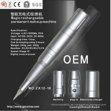 Wiederaufladbare Digital Permanent Make-up Maschine Zx12-19