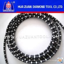 Резиновая алмазная канатная пила для гранитного карьера (HZ251)
