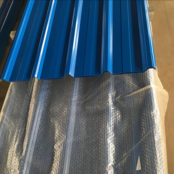 Zinc Trapezoid Roofing Sheet