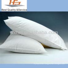 100% cotton plain white washable hospital pillow/medical pillow
