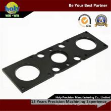 CNC таможни подвергая механической обработке электронной плиты черный оксид алюминия
