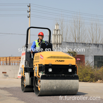Mini Driving Road Roller Vibration Roller Compactor with Factory Price