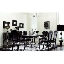 Luxury Restaurant Classical dining room set 1table with 6 chairs D1032