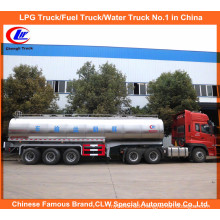 30t Skin Milk Trailer in 8000gal Bulk Milk Tanker Trailer