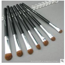 Conjunto de pincéis de maquiagem de cabelo de animal, pincel de maquiagem para sombra de olhos 7